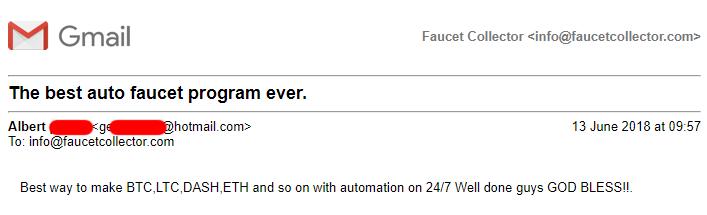 Faucet Collector - Faucet Bot